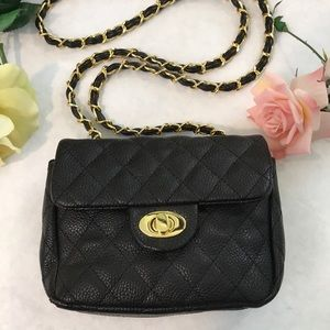 URBAN EXPRESSIONS Quilted Vegan Crossbody NWT!